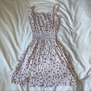 white Heart & Hips dress